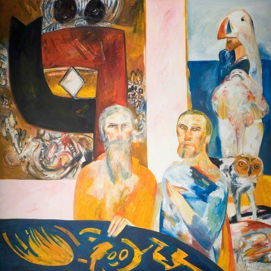 John Bellany painting