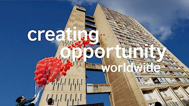 British Council video still - creating opportunity worldwide