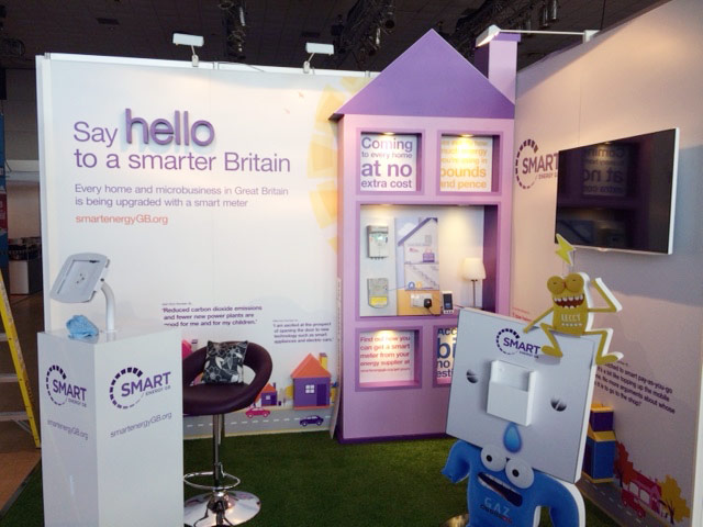 Smart Energy GB exhibition stand
