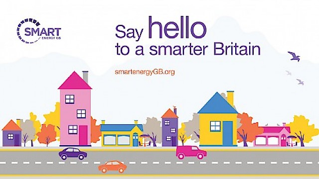 Smart Energy GB creative by 999 Design - say hello to a smarter Britain