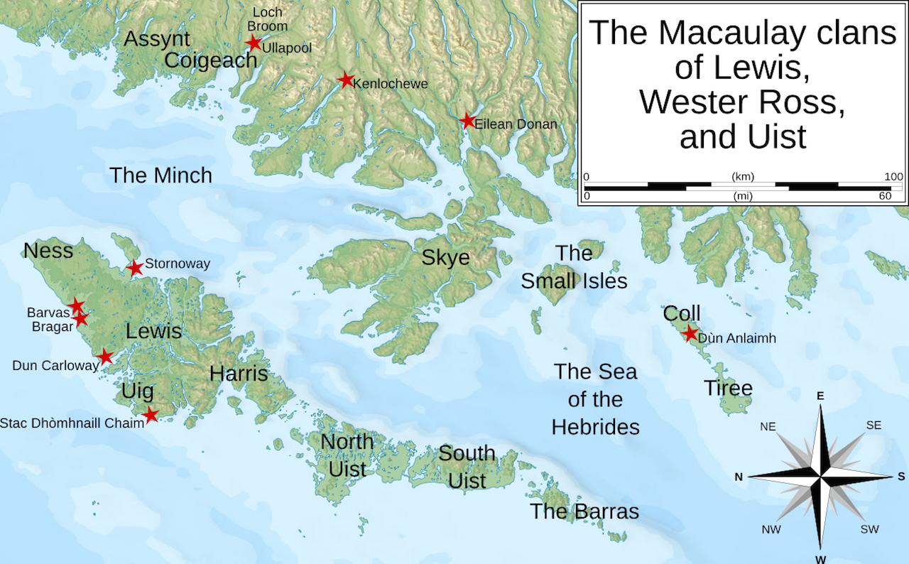 The Macauley clans of Lewis, Wester Ross and Uist