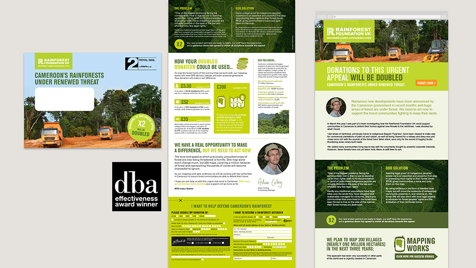 Rainforest Foundation UK - DBA winner