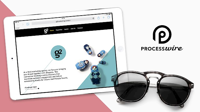 999 Design's Processwire website for g2