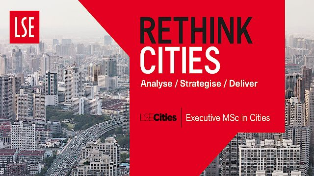 'Rethink Cities' - 999 Design's ad campaign for the new LSE Cities Programme