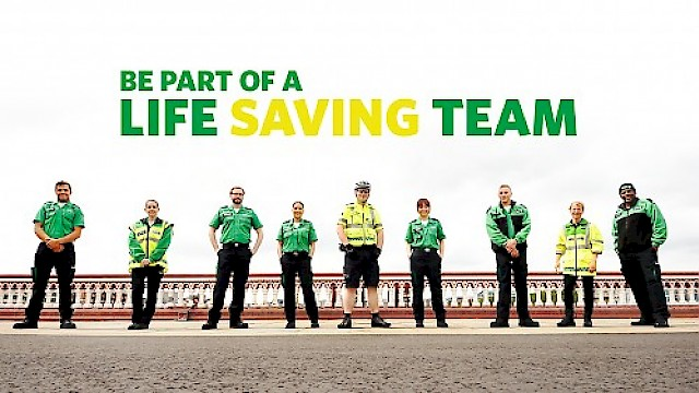 The St John Ambulance team