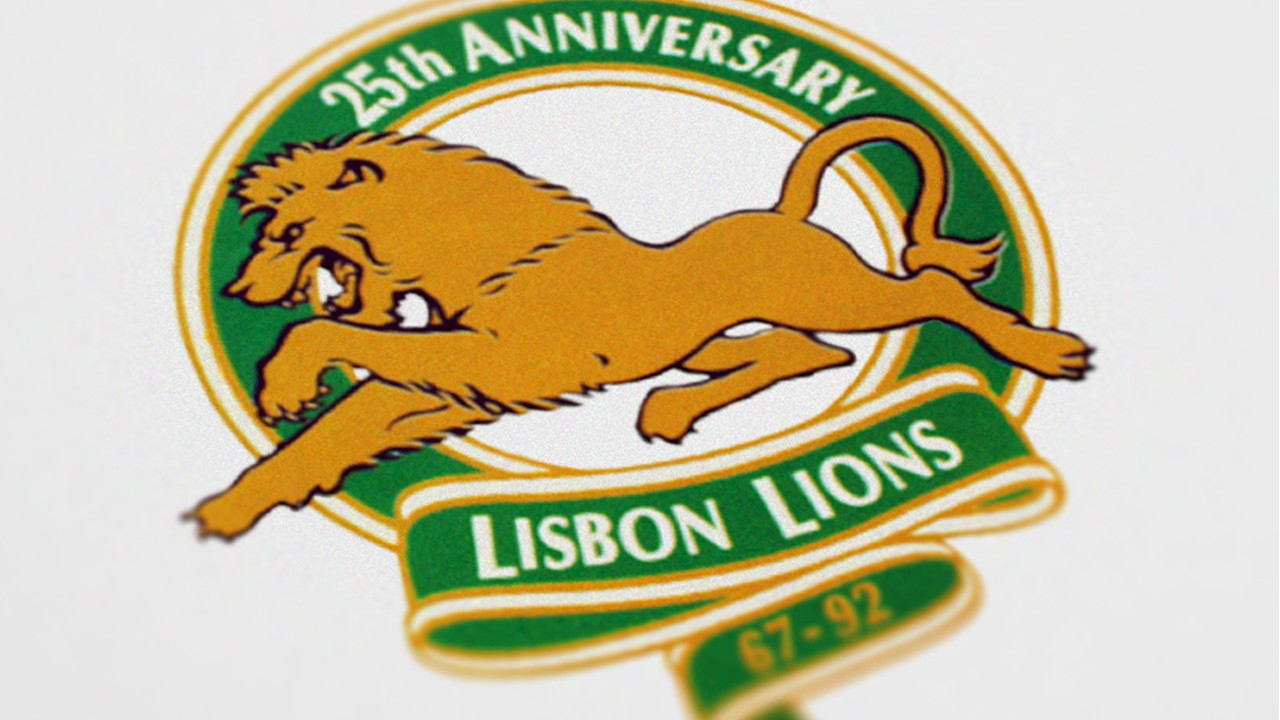 Logo for the Lisbon Lions 1992 anniversary